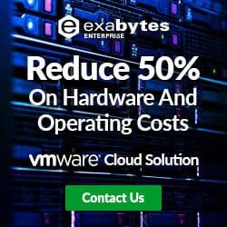 VMWare cloud solution banner