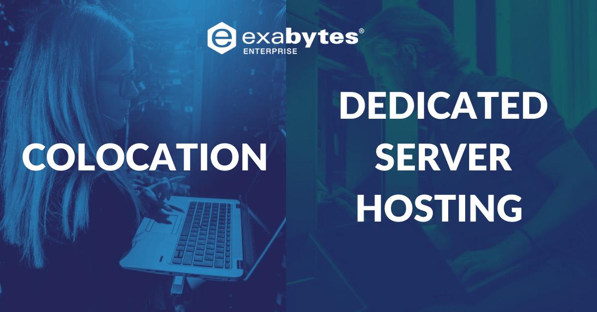 Colocation vs. dedicated server hosting